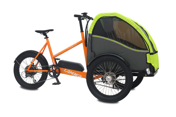 Vélo cargo à assistance électrique