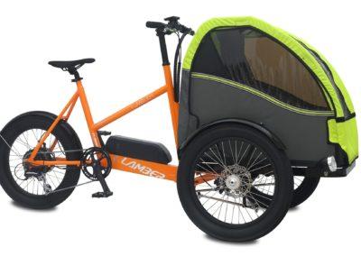 Vélo Cargo Electrique 2 enfants