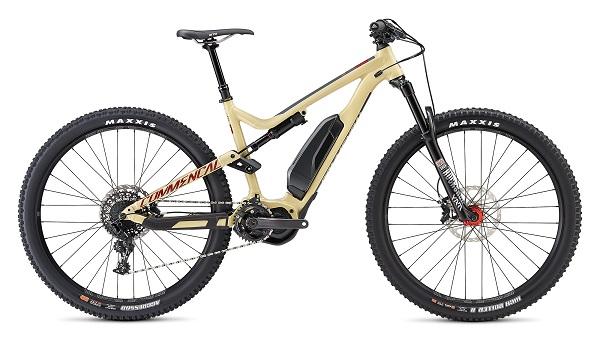 Electric enduro mountain bike rental pyrenees commencal meta power