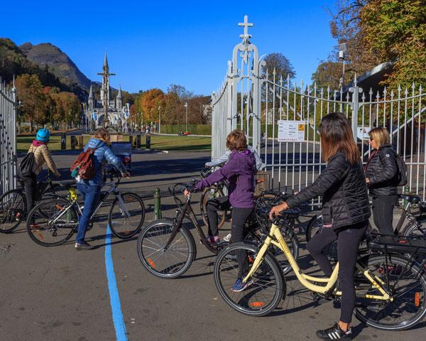 Visite de Lourdes en Vélo électrique