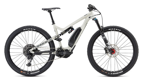 Electric enduro mountain bike rental pyrenees commencal meta power